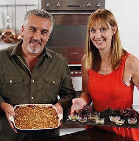 Paul Hollywood and Fiona Houston