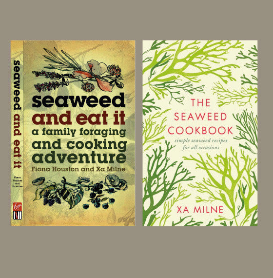 Seaweed and Eat It and The Seaweed Cookbook covers