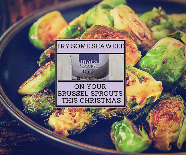 Brussels sprouts with Dulse seaweed