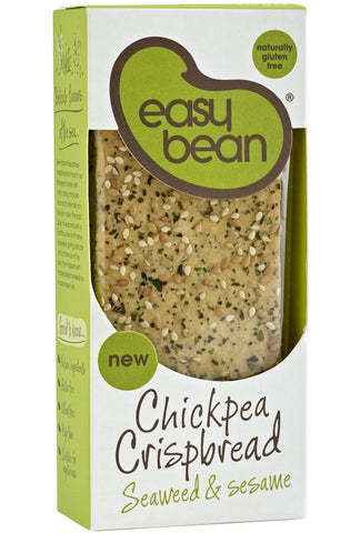 Easy Bean Crispbreads with Mara Seaweed