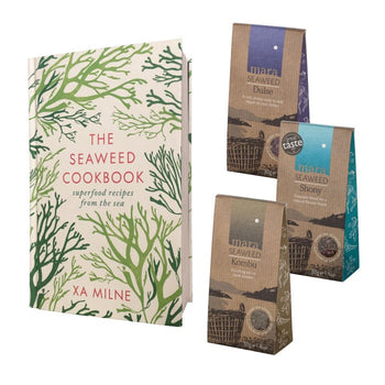 Seaweed Cookbook and Pouch Set