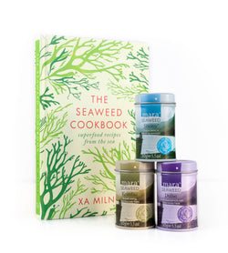 Seaweed Cookbook & Gift Tin Set