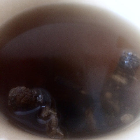using osha root to make tea
