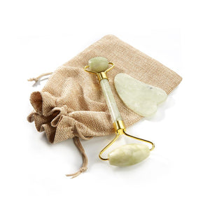 Jade Roller and Gua Sha Set