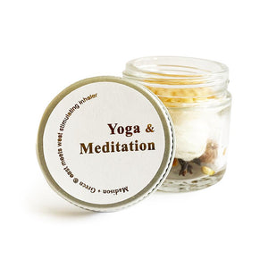Yoga and Meditation Natural Inhaler