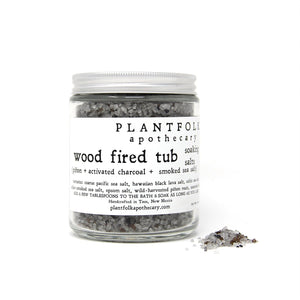 Wood Fired Tub Soaking Salts