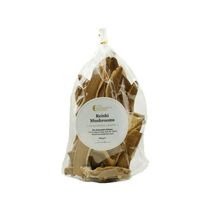 Wildcrafted Dried Reishi Mushrooms (Whole Slices) bag front