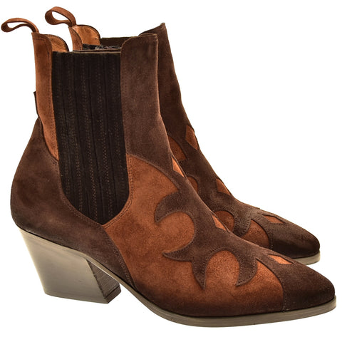 Maurizi Rodeo Boots - Brown