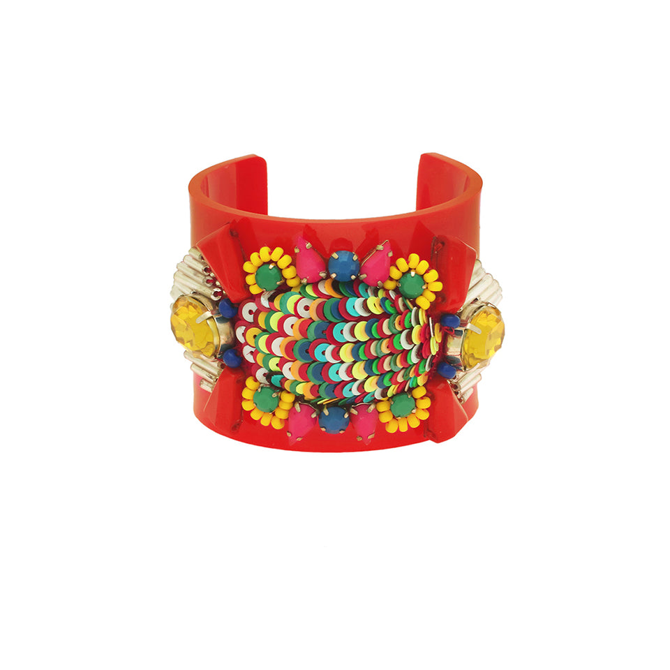 Forest of Chintz Frida Cuff