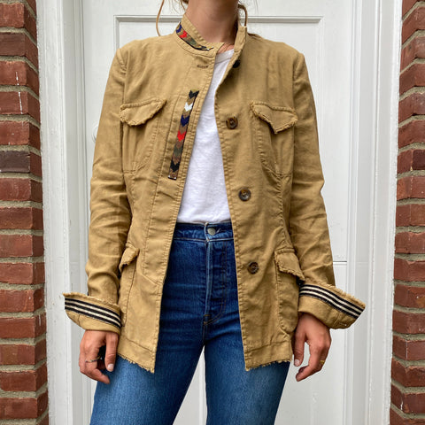 Bazar Deluxe Tan Military Jacket