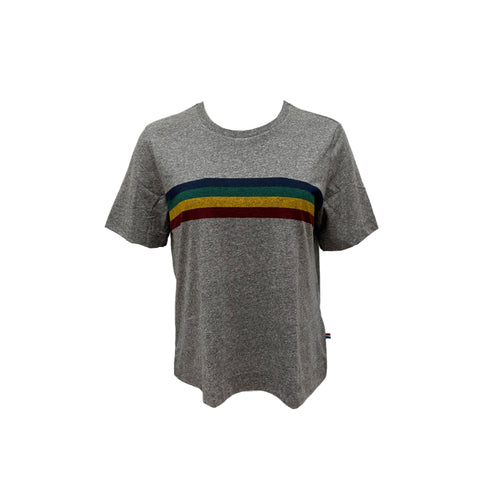 Sol Angeles Tahoe Stripe T - Shirt - Heather