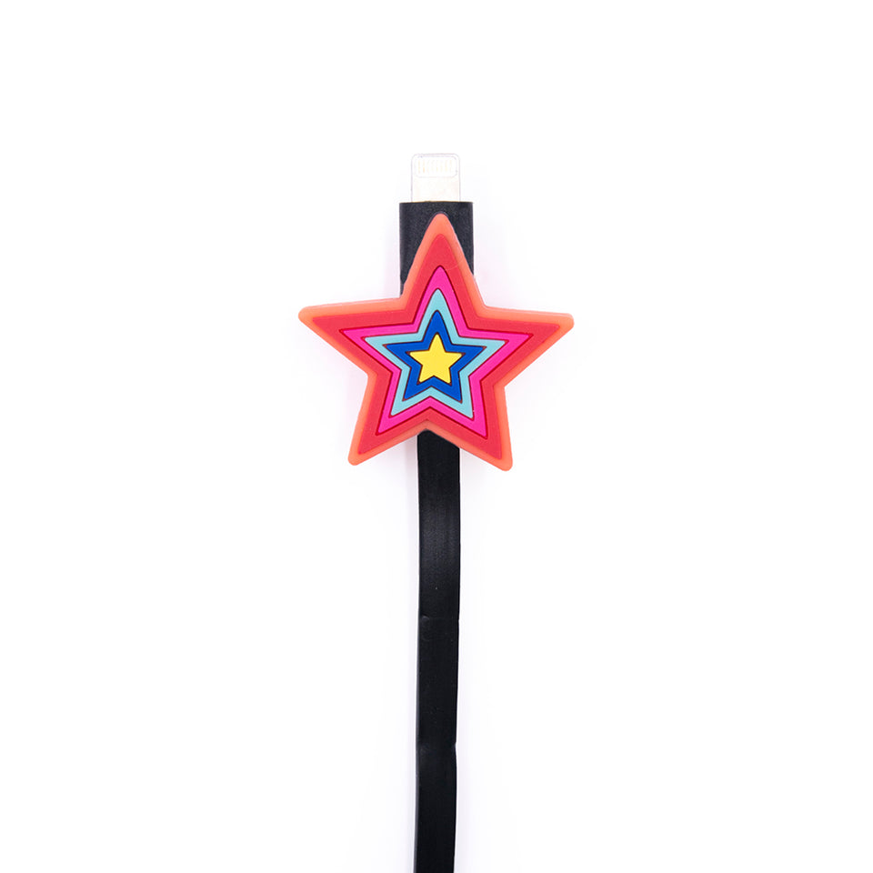 Iphoria Charging Cable - Colorful Star