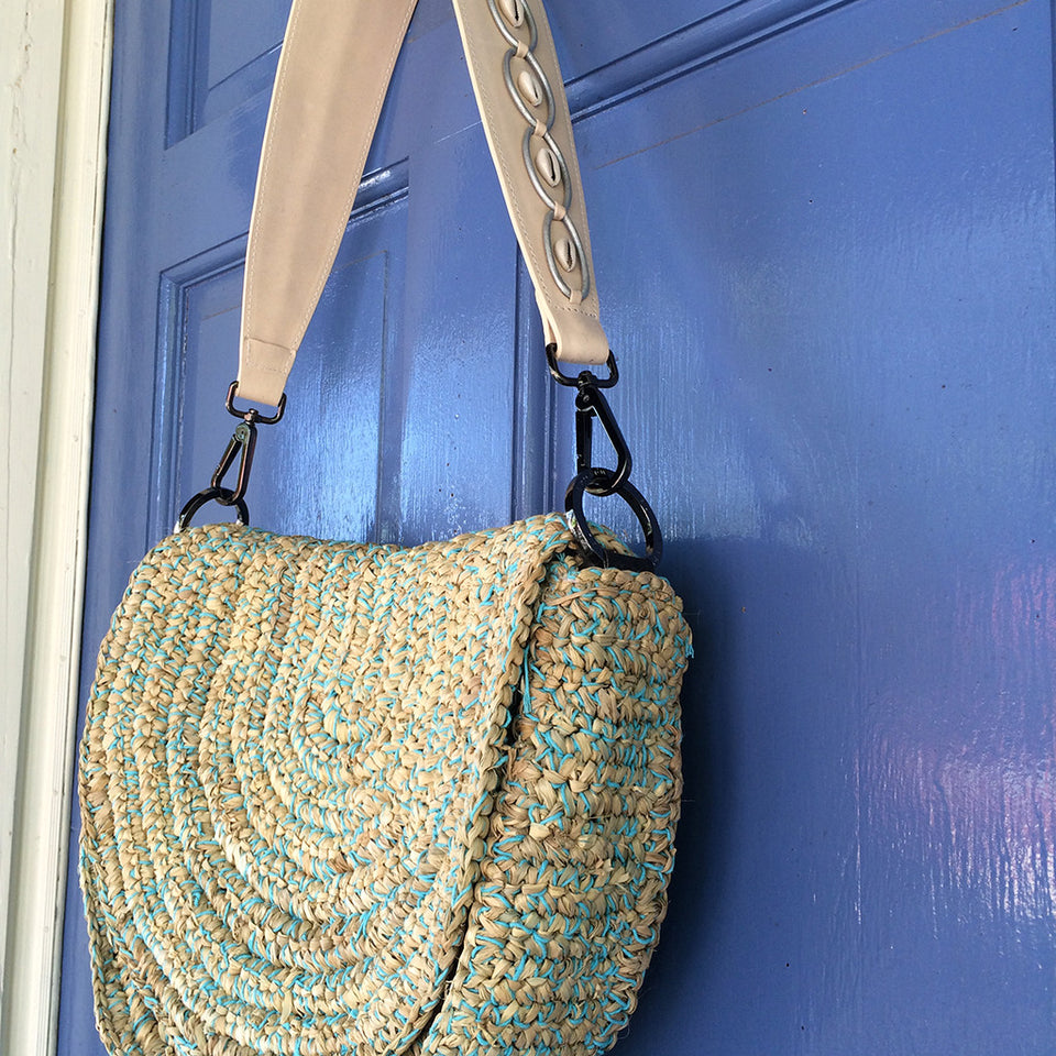 The Joey Wölffer Beach Bag - Turquoise