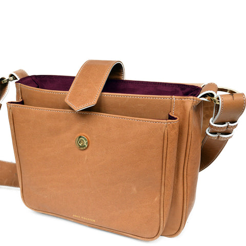 Joey Wölffer Classic Bag - Cognac
