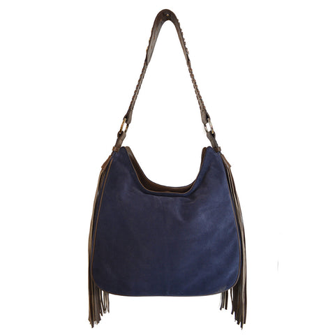 Joey Wölffer Hobo Bag - Navy