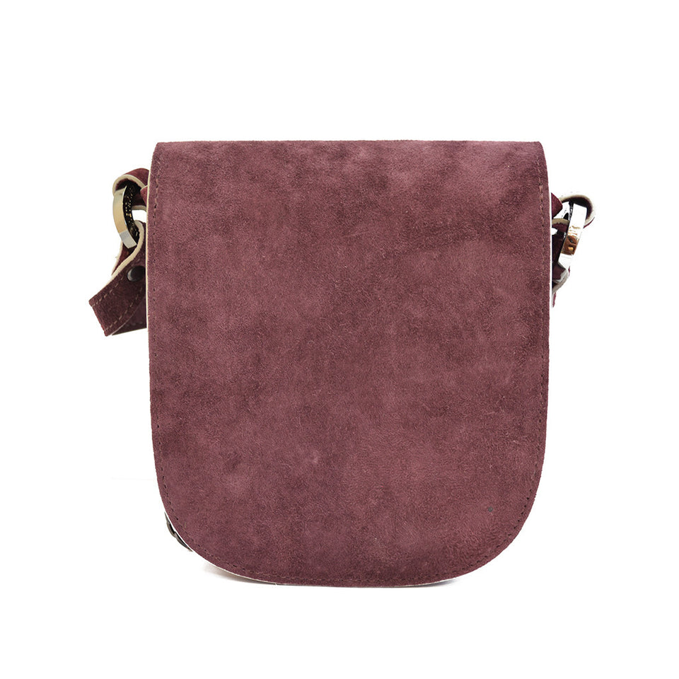 Joey Wölffer Mini Bag - Burgundy