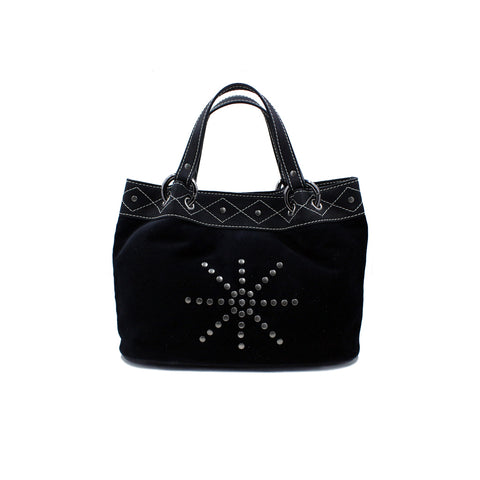 Joey Wölffer Mini Tote - Black Velvet