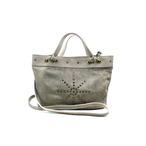 Joey Wölffer Mini Tote - Taupe Velvet