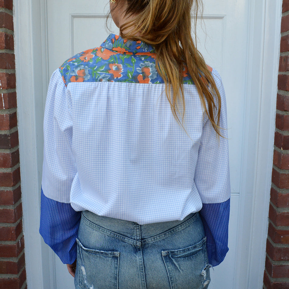 Joey Wölffer Reworked Blouse - The Blues
