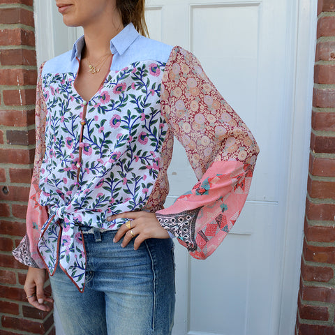 Joey Wölffer Reworked Blouse - The Pinks