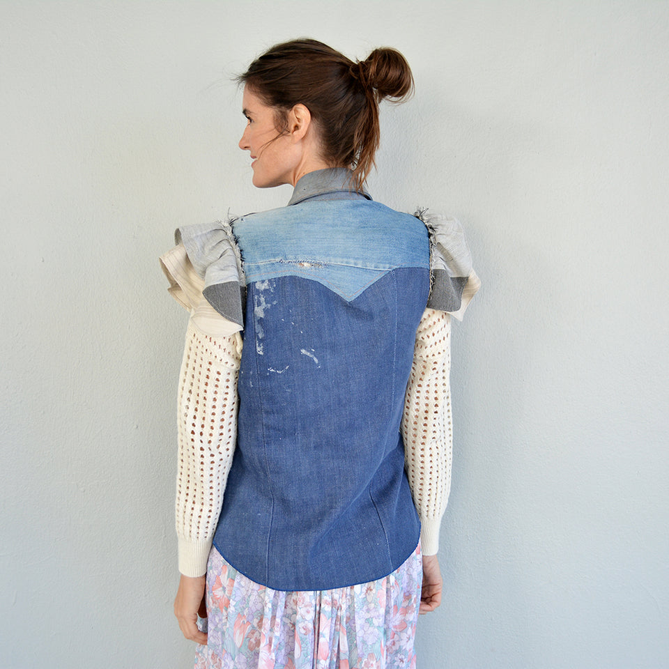 Joey Wölffer Reworked Vest - Dina
