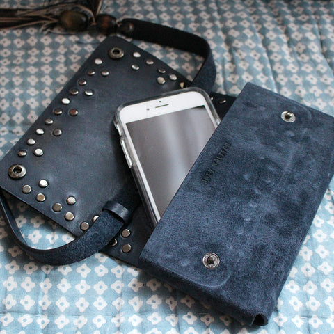Joey Wölffer Phone Bag - Navy