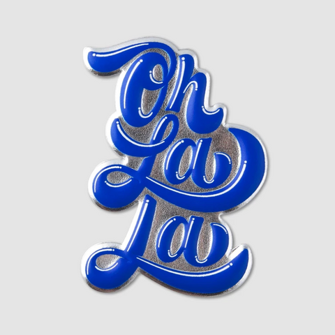 "Printworks "" Oh la la"" Sticker - Blue"