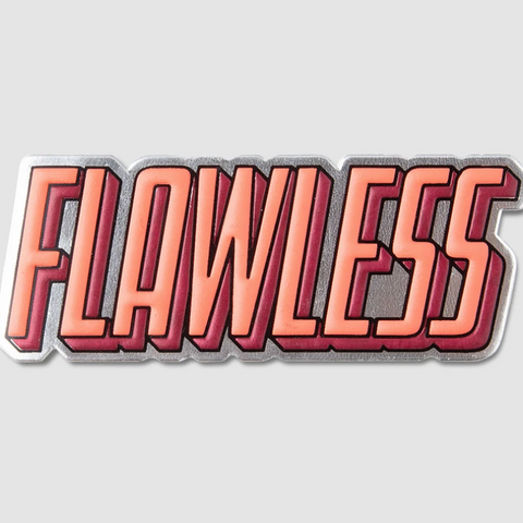 "Printworks "" Flawless"" Sticker"