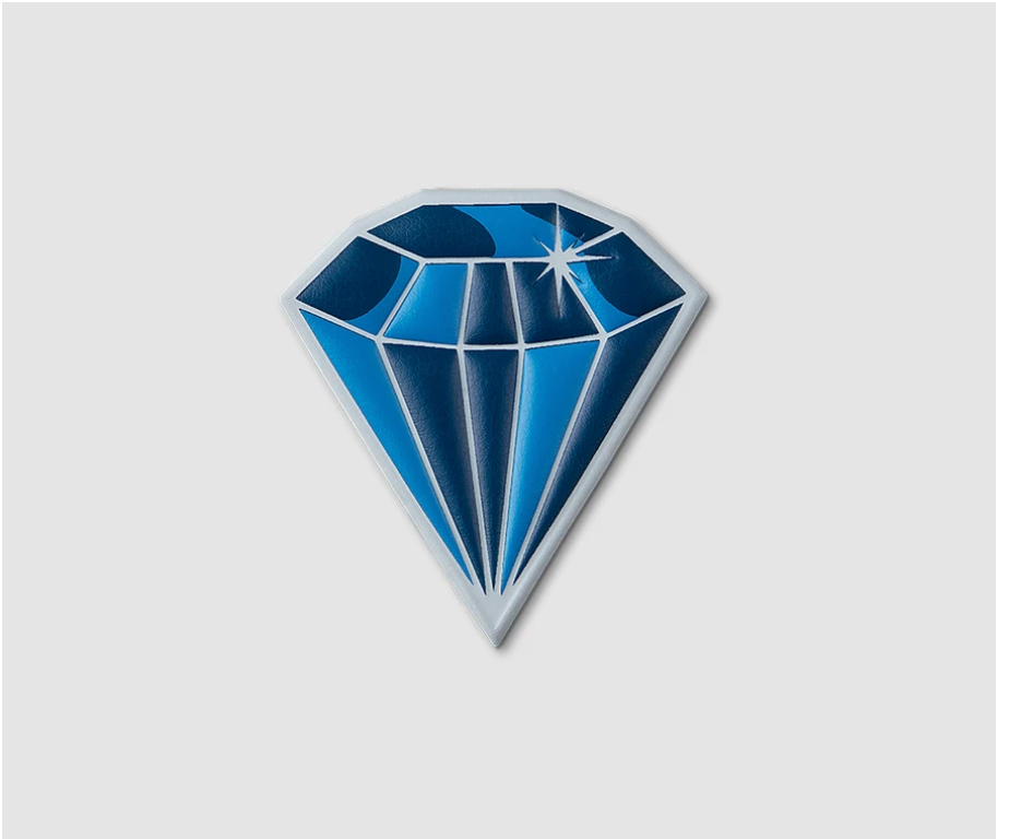 "Printworks "" Diamond"" Sticker"