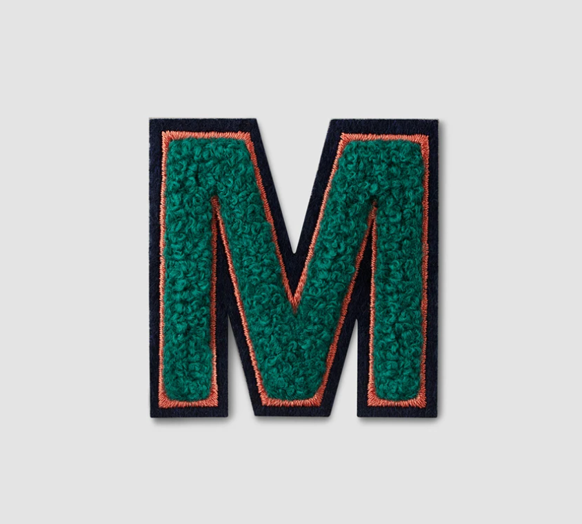 "Printworks Fluffy ""M"" Sticker"