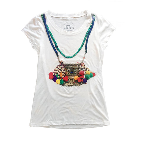 The Styleliner Pom Pom T-Shirt