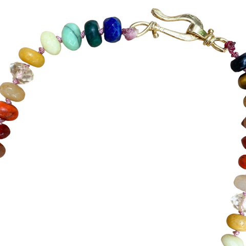 Rainbow Lab Ombre Necklace