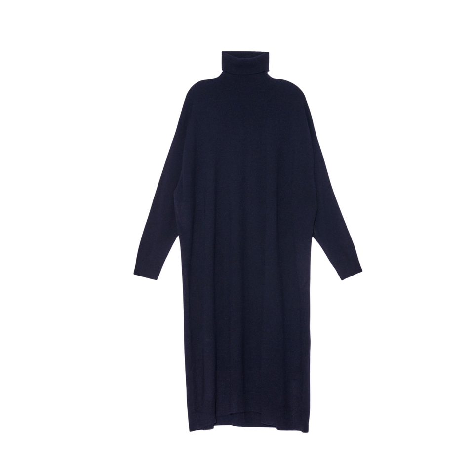 Demylee Aurelia Dress-Navy