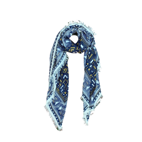 Douce Glorie Seventies Scarf - Blue
