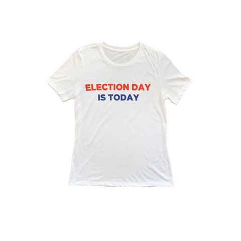Joey Wolffer X Your Presidential Playlist Election Day is Today T- Shirt