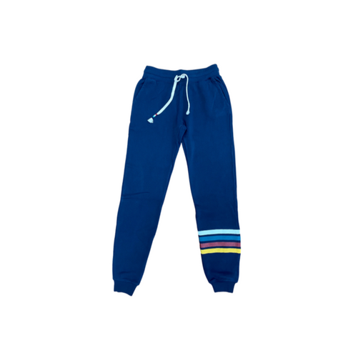 Sol Angeles Canyon Stripe Jogger - Indigo