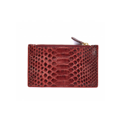 Claris Virot Helena Card Holder - Burgundy