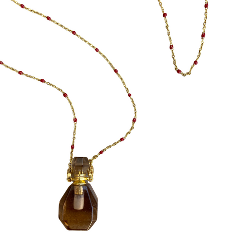Potions Necklace - Gold Dotted