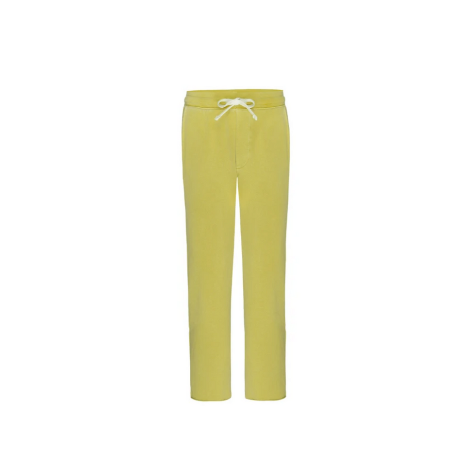 AMO Straight Leg Sweatpants - Citronella