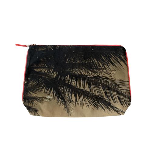 Dezso Tulum Burn Palm Pouch