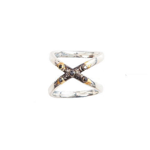 Jacey Withers Cross Ring