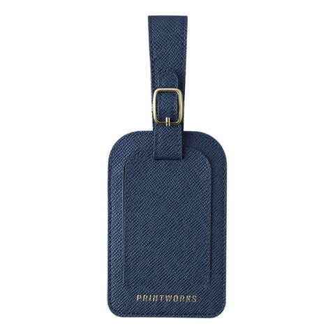 Printworks Luggage Tag - Blue