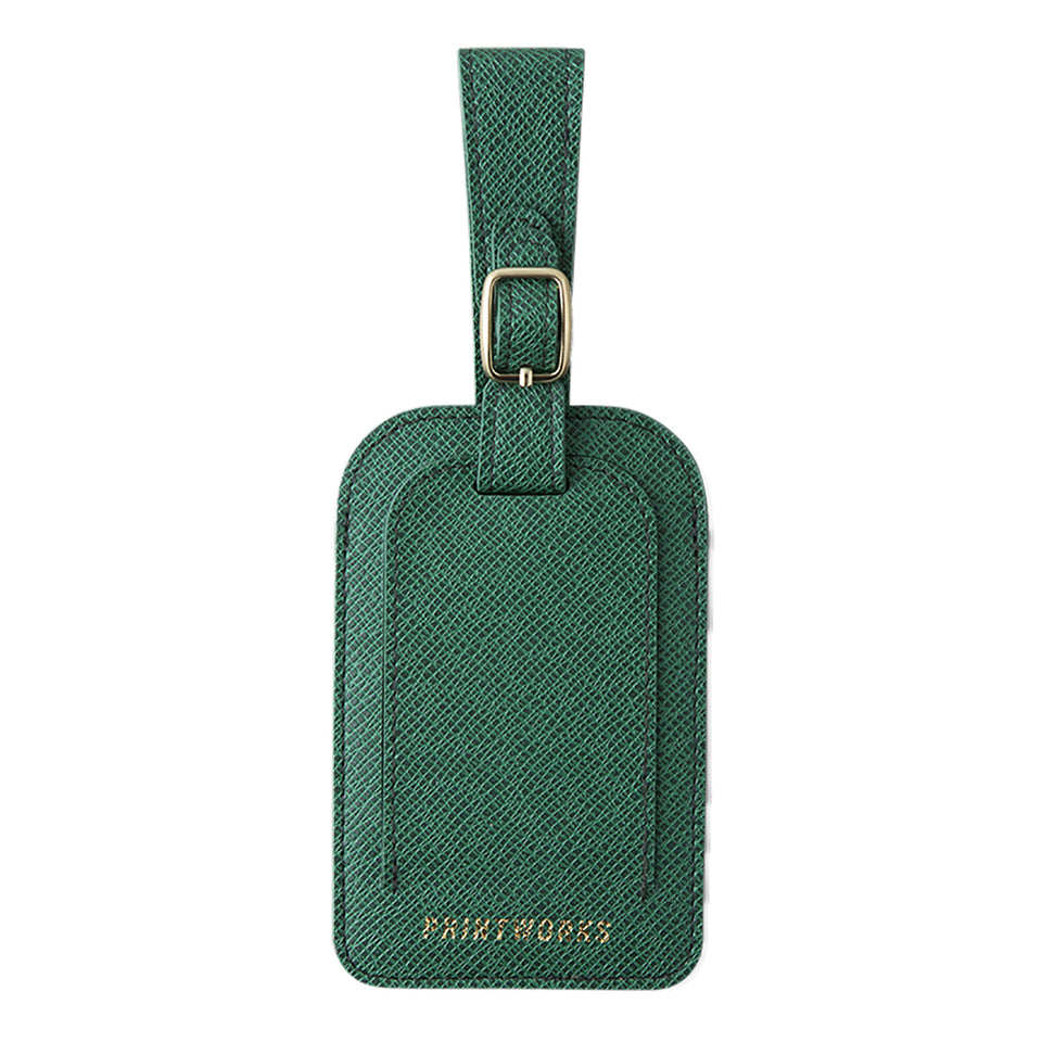 Printworks Luggage Tag - Green