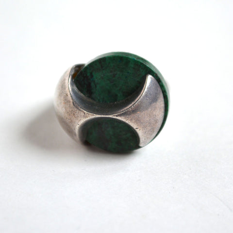 Vintage Malachite Ring