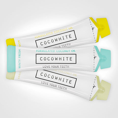 Cocowhite Assorted Flavours - 2 Week Coconut Oil Course