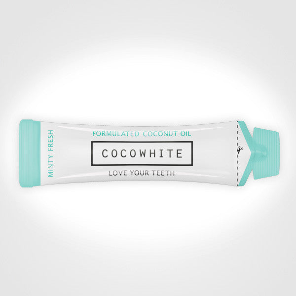 Cocowhite Minty Fresh - 4 Week Coconut Oil Course