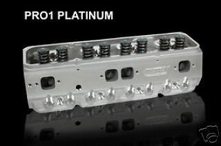 DART PRO 1 SBC 180/72CC HEADS #11221112P 1.437 .620 LIFT FREE DART VALVE COVERS!
