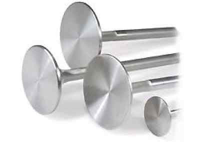 POWERSTROKE 6.0L 34.04MM DIAMETER 128.6MM O.A.L. STAINLESS INTAKE VALVES BY REV