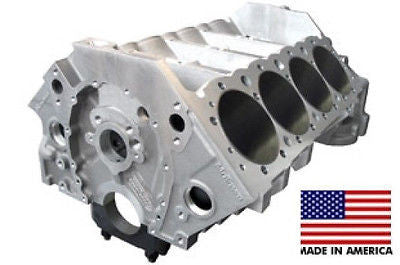084510 BMP MOTOWN SBC 9.025 DECK 3.990 ROUGH BORE 350 BILLET MAIN ALUMINUM BLOCK