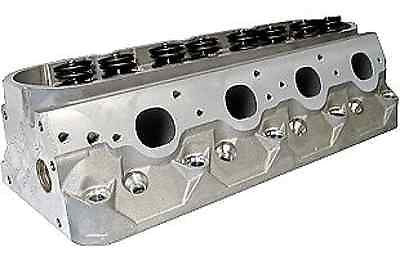 025350C BMP WARHAWK 12° LS7 296/64CC BARE ALUMINUM CNC PORT HEADS FOR 2.25/1.625